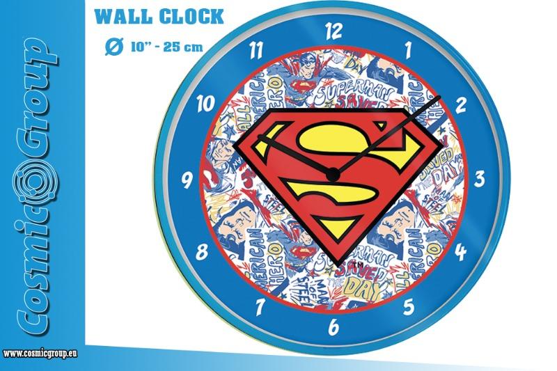 dc-superman-logo-wall-clock