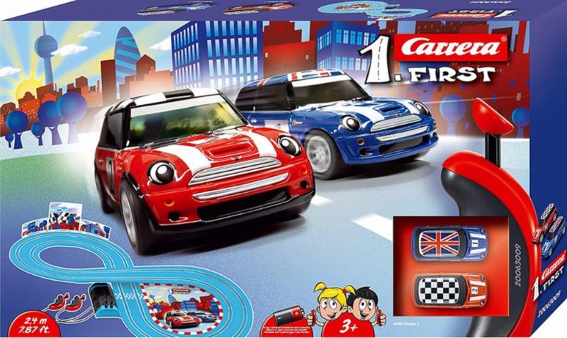 carrera-pista-first-mini-cooper-2-4-m-blu